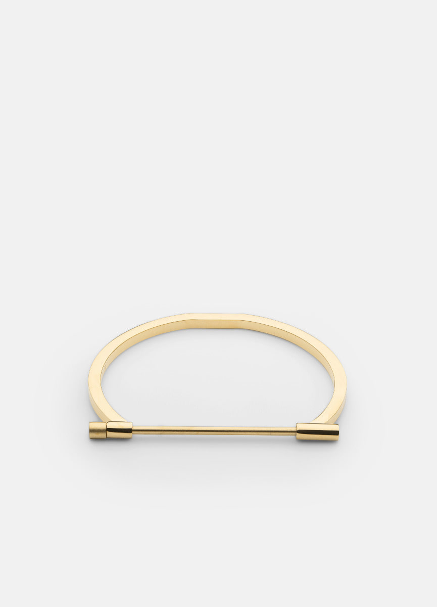 Omega Bangle - Gold plated